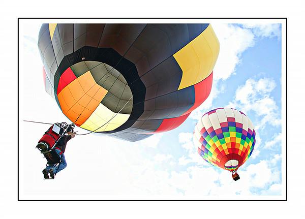 Hot Air Balloon Sunrise Ascension