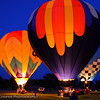 "May 31, Another shot from Saturday's ""Wine, Art and Balloons"". After they do a flying demonstration they retrieve, inflate again and do a ""night light"". <br /> Thank you all for your comments on yesterday's ""Balloon Girl""...I fell in love with that shot the second I took it and I think it is destined to be one of my all time favorites."