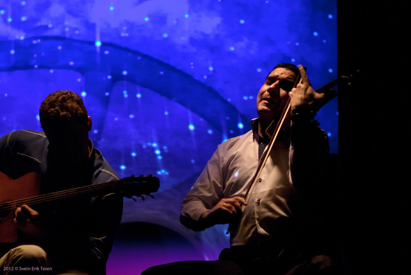 String intensity <br /> Adrien Moignard and Marius Apostol performing at Sinus, Bodø