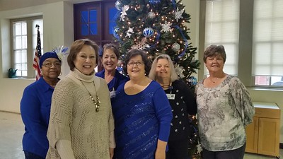 Hot Springs Senior Center 25 Year Celebration (Dec. 2016)