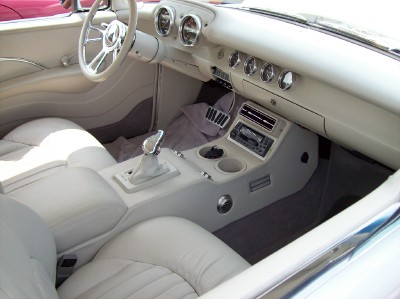 This is the custom interior from the same '57 Chevy