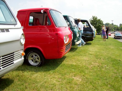 Pat Spears's 1963 Econoline Van-up. Best Ford.