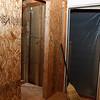 Entry closet doorway - Week 6