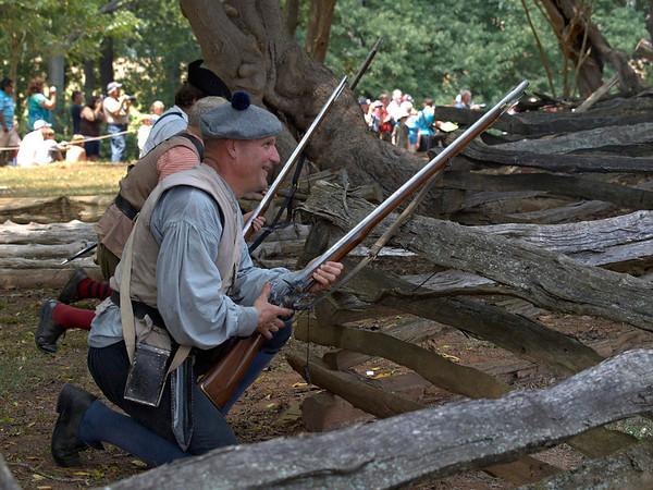 House in the Horseshoe 2011: American Revolutionary War Reenactment