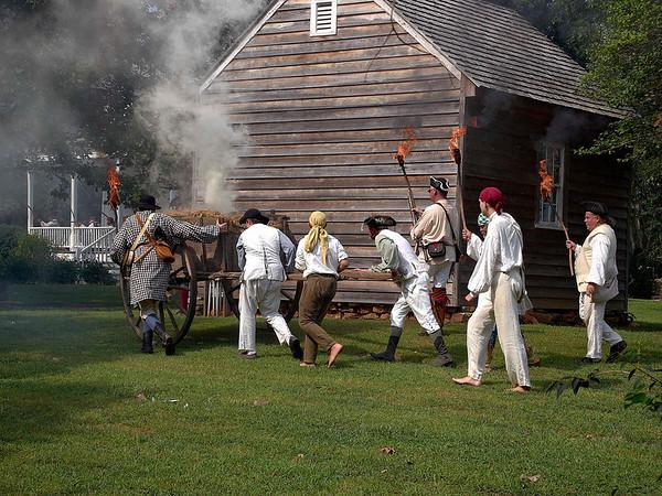 House in the Horseshoe 2010: American Revolutionary War Reenactment