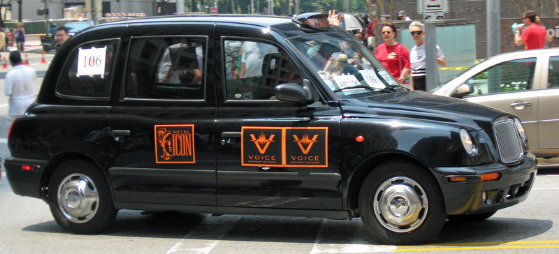 Hotel Icon's London Taxi