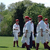 The first vintage baseball game 2009 Howell History Days