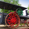 Fred Buckner's steam engine at Howell History Days 2009