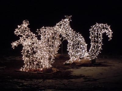 Hubbard Park 2011 Christmas lights
