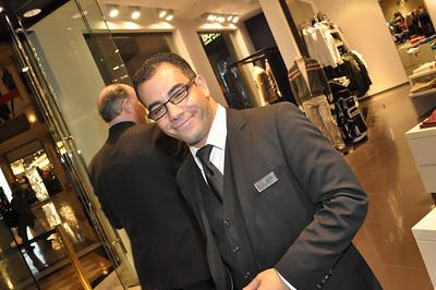 Hugo Boss Men's Luxury Clothing Mixer at Caesar's Forum Shops in Las Vegas produced by DSM Luxury Events (http://www.dsmlasvegas.com). Photographs by Mark Bowers, Las Vegas photographer.