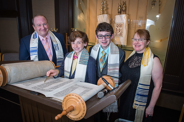 Hugo's bar mitzvah weekend