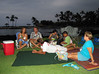A few of the Kona Honu Divers staff picnic at Mauna Lani for Hula Concert on Sep 28th