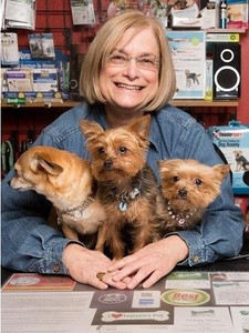Terri Ellen, WHS Volunteer and Pet Store Owner