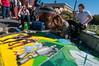 Pastels On The Plaza in Arcata, Humboldt County, California. October 5, 2013. [Arcata 2013-10 006 Humboldt-CA-USA]