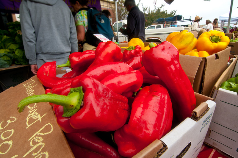 Arcata Farmers Market, September 24, 2011.