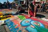 Pastels On The Plaza in Arcata, Humboldt County, California. October 5, 2013. [Arcata 2013-10 009 Humboldt-CA-USA]