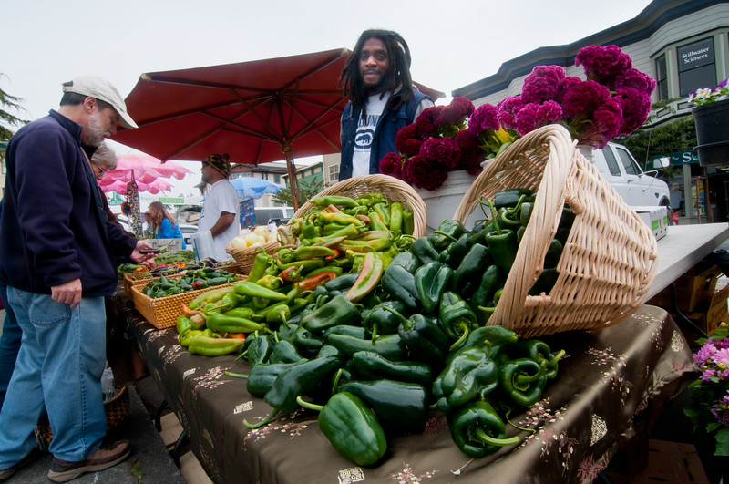 Arcata Farmers Market, September 24, 2011.