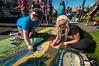Pastels On The Plaza in Arcata, Humboldt County, California. October 5, 2013. [Arcata 2013-10 011 Humboldt-CA-USA]