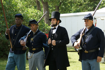 First Kansas Colored Infantry and Abraham Lincoln