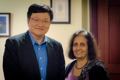 Ning Tang and Yasmeen Mohiuddin