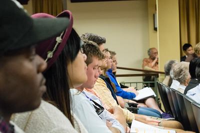 Audience at Ning Tang presentation