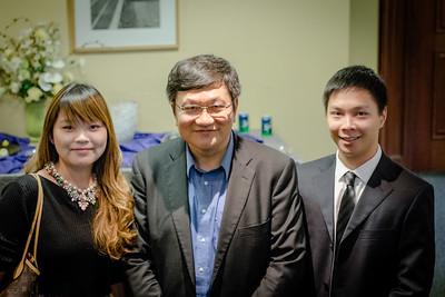 Ning Tang with Carey Fellows
