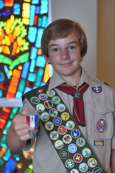 Hunter Bruce Eagle Scout Court of Honor - 2017-07-30