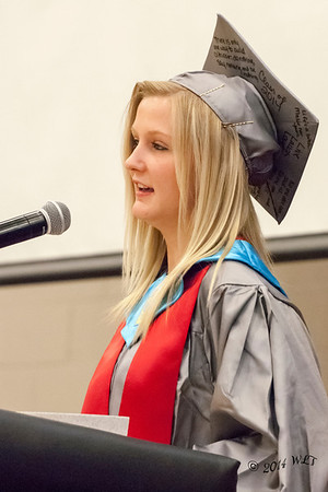 Salutatorian Gives Second Speach