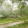 Briargrove neighborhood, Saturday morning Sept 13, 2008, the morning after Hurricane Ike.