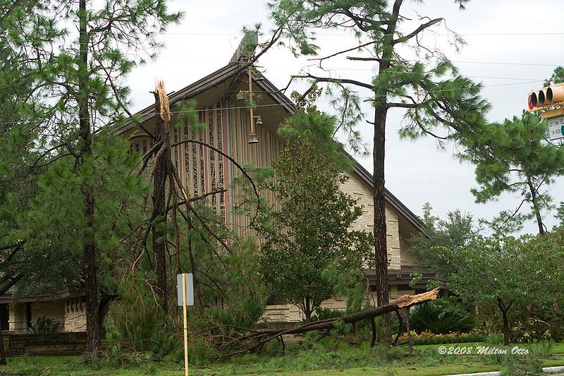 Hurricane Ike aftermath.