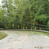 Downed power lines. Hurricane Ike aftermath.