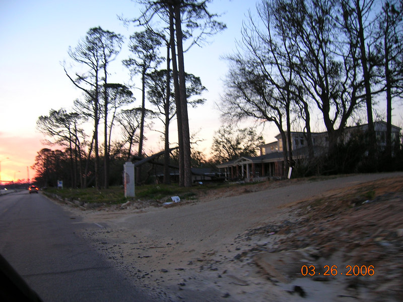 Another view of Jerry Lee's house on Beach Blvd.