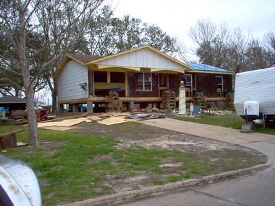 Hurricane Katrina Damage and Rebuilding in Pascagoula, Mississippi
