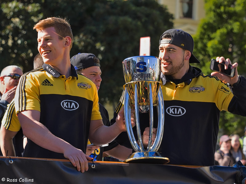Hurricanes Super Rugby Parade, Wellington, 10 August 2016