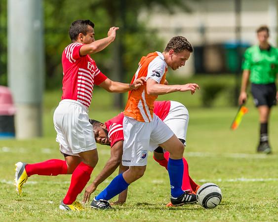 Dutch Lions v Miramar 06/10/2015
