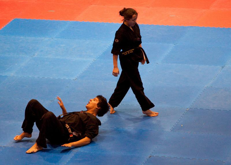 Hwang's Martial Arts Exhibition - March 2011 Bellarmine University, Louisville KY