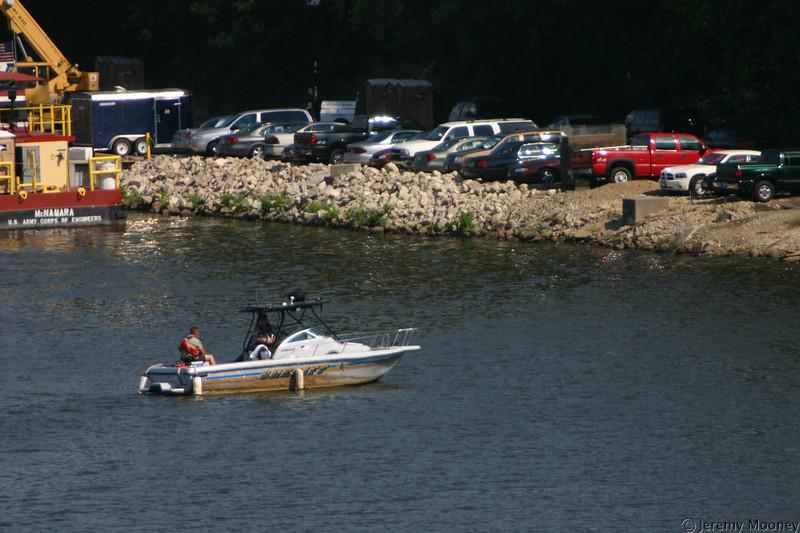 Sheriff's patrol boat
