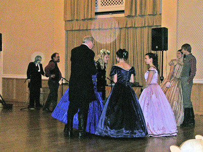 I could've danced all night!: Civil War Ball 2006