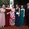 Innovation Academy Charter School prom.  From left, Hailey Mills of Tewksbury, Lily LeDuc of Lowell, Emily Green of Lowell, Sarah Wagner of Chelmsford, Hannah Goldthwait of Dracut, and Dylan Urban of Chelmsford. (SUN/Julia Malakie)