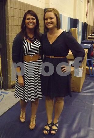Sara Condon and Samantha Reeves.