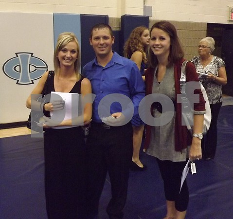 From left to right: Niki and Cory Cummins along with Megan Grove.