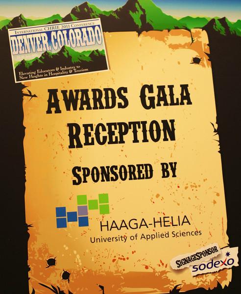 ICHRIE 2011 Friday Gala