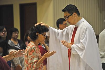 IHM CPG - Mass & Healing Service on 31 Jan '13