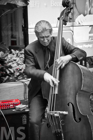 At one with his Cello.