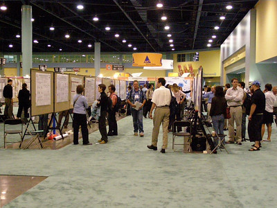 Poster session during the IMMUNOLOGY 2007 meeting in South Beach, FL.