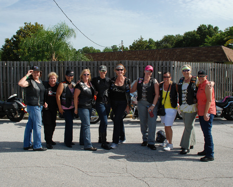The Chrome Diva`s of Tampa Bay.