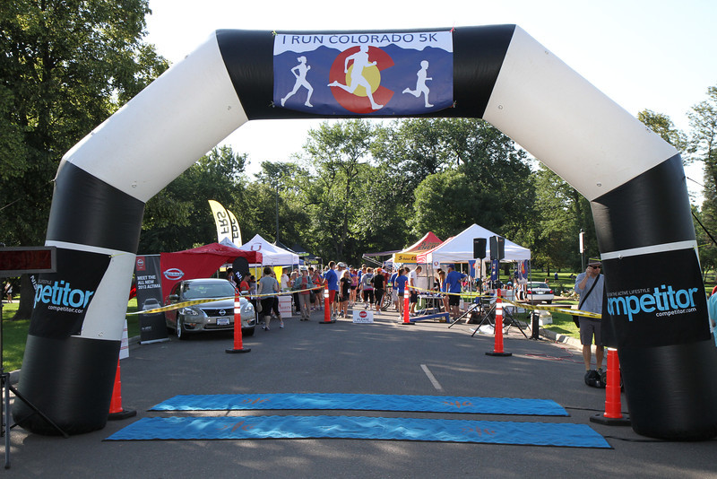IRunColorado 5k - August 5th, 2012 - Washington Park, Colorado