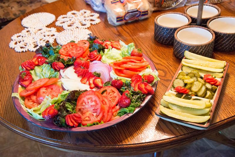 Susan's condiment plate!!