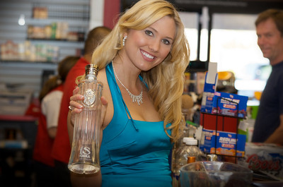 """Lee's Discount Liquor is now carrying iS Vodka in Las Vegas. IS Vodka <a href=""""http://www.isvodka.com"""">http://www.isvodka.com</a> is a super-pure, ultra-premium vodka distilled 7 times, mixed with glacier water from the land of ice and snow, Iceland, and bottled in an award-winning container designed to delight drinkers and make a great gift."""