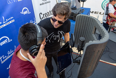 2018_10_02, Audio-Technica, Corona, Creator Station, IS61, Matt Reich, NY, OWC, Tents